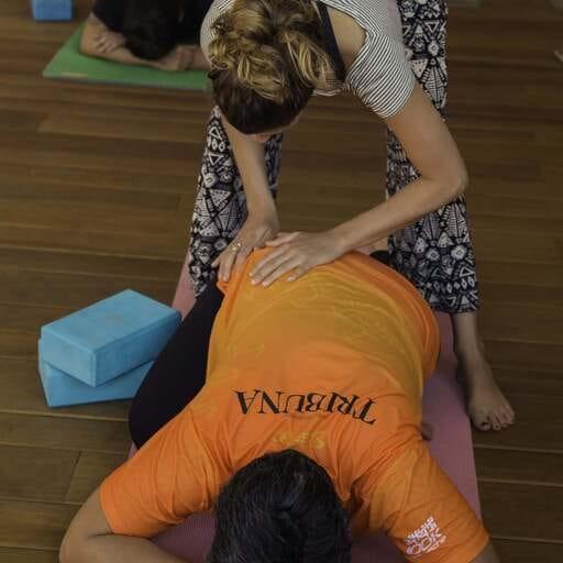 Des cours de Yoga en faveur du corps mais aussi de l'esprit - Domenica Colombié - Professeure de Yoga à Annecy