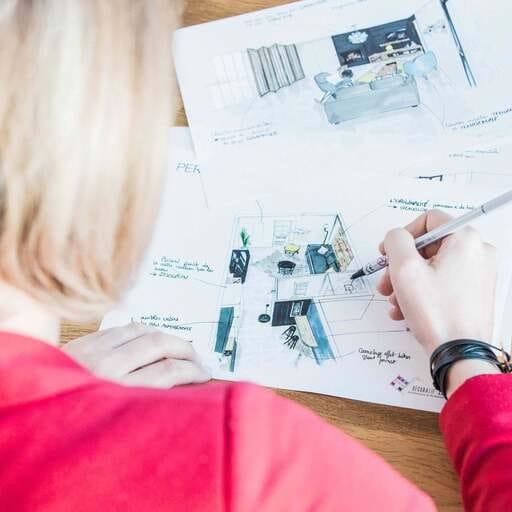 Agence d'architecture intérieure pour particuliers et professionnels - Coralie Bizot – Architecte et Designer d'espaces à La Rochelle