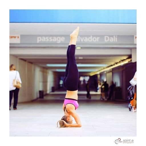 Une globetrotteuse devient professeur de yoga - Fanny Ros - Professeur de Yoga à Perpignan