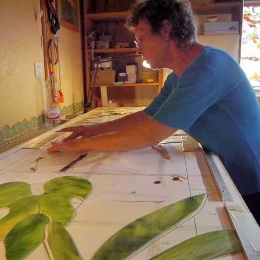 Des créations uniques de vitraux - Cléa Timpani - Artiste créatrice de vitraux d'art,spécialiste du vitrail Tiffany à Bournezeau