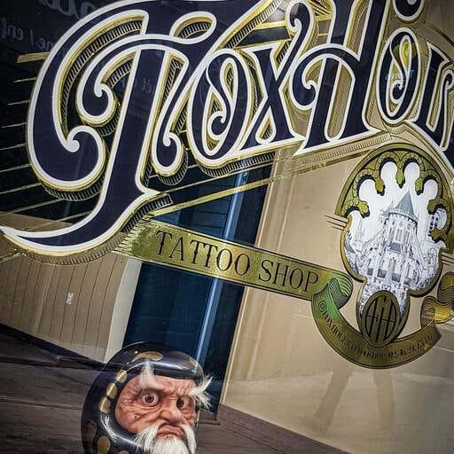 Un travail sur-mesure au salon de tatouage FoxHole Tattoo Shop - Marie – Tatoueuse à Bourges