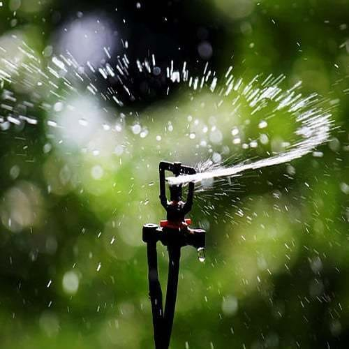 Installation système d'irrigation
